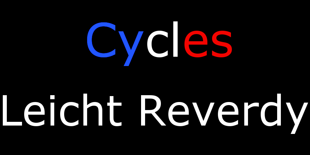 Cycles LEICHT-REVERDY